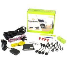 Valeo Parkovací asistent 632200 Beep & Park, predný alebo zadný, 4 senzory, zvukový signál, kompatibilný s ťažným zariadením, 9-16 V
