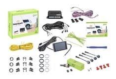 Valeo Parkovací asistent 632201 Beep & Park, predný alebo zadný, farebný LCD displej, 4 senzory, zvukový signál, kompatibilný s ťažným zariadením, 9-16 V