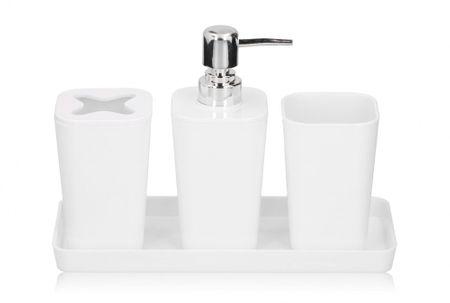 TimeLife Fürdőszoba készlet, fehér