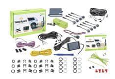 Valeo Parkovací asistent 632202 Beep & Park, predný a zadný, farebný LCD displej, 8 senzorov, zvukový signál, kompatibilný s ťažným zariadením, 9-16 V