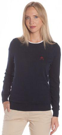 Polo Club C.H.A sweter damski M ciemnoniebieski