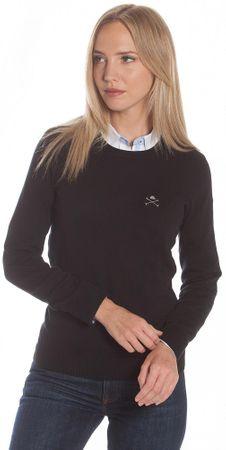 Polo Club C.H.A ženski pulover, XL, črn