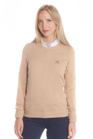 Polo Club C.H.A ženski pulover, XL, bež