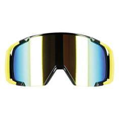Motocyklové crossové okuliare S-line Scrub MX žltá-fluo-čierna