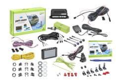 Valeo Parkovací asistent 632211 Park Vision, predný a zadný, kamera, TFT displej, 4 senzory, zvukový signál, 9-16 V