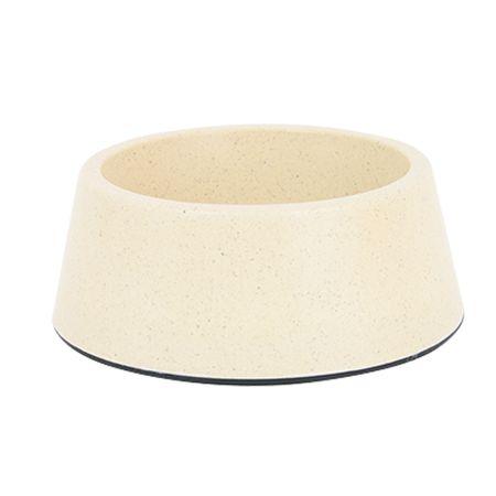 Akinu ECO bambusz kutyatál, homokszínű 1,5L