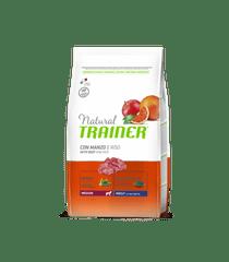 TRAINER Natural Medium Adult hovězí a rýže 3kg