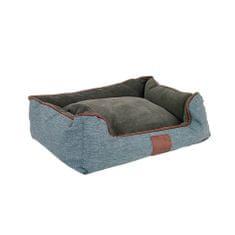 Akinu Chester pasja postelja, rjava/siva