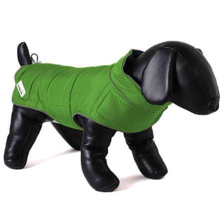 Doodlebone plašč za pse Green/Orange, XL