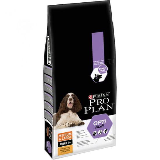 Purina Pro Plan Medium & Large Adult 7+ OPTIAGE 14kg