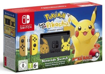 Nintendo igralna konzola Switch Let's Go, Pikachu! Bundle