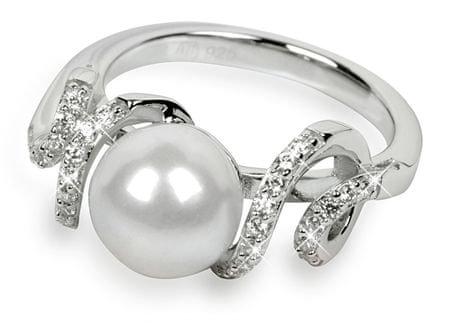 Silver Cat Srebra pierścień z kryształami SC028 (obwód 54 mm) srebro 925/1000
