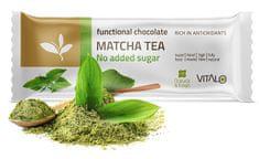 Vitalo Funkčné čokoláda Matcha tea 25g