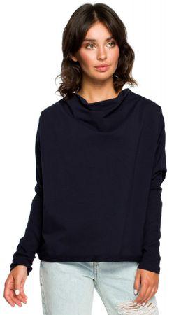 BeWear ženski pulover, temno moder, S/M