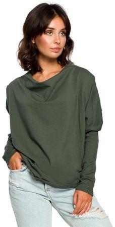 BeWear dámský svetr L/XL zelená