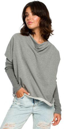 BeWear dámský svetr L/XL šedá