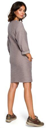 196b9c062a10 BeWear dámské šaty XL šedá
