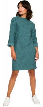 BeWear dámské šaty S tyrkysová
