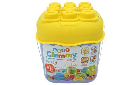Clementoni Clemmy 20-as kocka szett