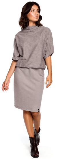 BeWear dámské šaty XXL/XXXL sivá