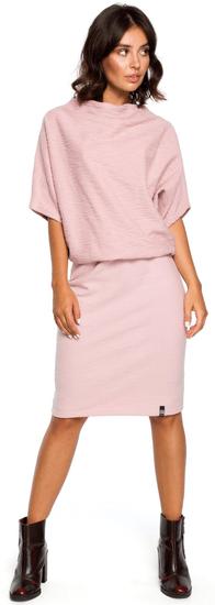BeWear dámské šaty XXL/XXXL ružová