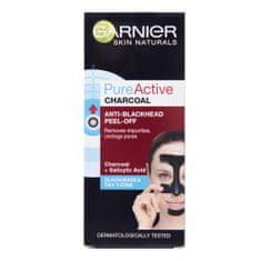Garnier maska za obraz Skin Naturals proti ogrcem, Pure Active Peel off, 50ml