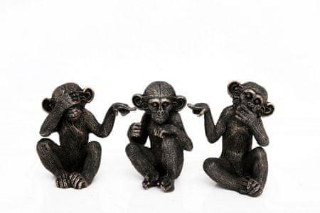Sifcon Set tří opic 16 × 30 cm