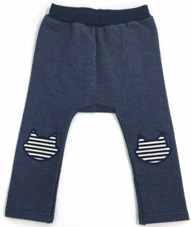 Atticat hlače za djevojčice Denim, 80 - 92, plave
