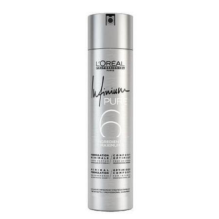 Loreal Professionnel Hipoallergén hajlakk, amellyel Sinou Infinium Pure ( Hair spray) 300 ml