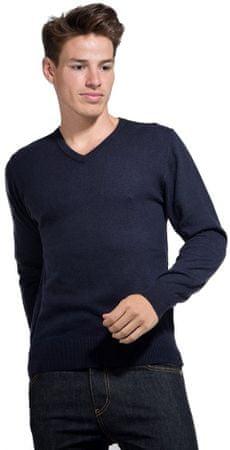 William de Faye moški pulover, XXL, temno moder