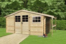 SOLID dřevěný domek SOLID TOMAS 464 x 301 cm