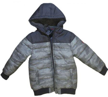 Carodel fiúk kabát 92 szürke