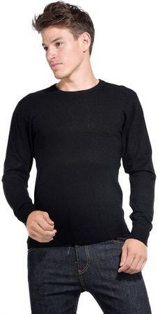 William de Faye moški pulover, XL, črn