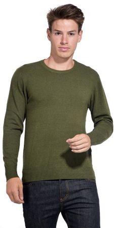 William de Faye moški pulover, M, zelen