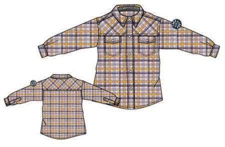 e246921339 Carodel fiú ing 122/128 sárga/kék | MALL.HU