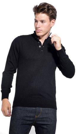William de Faye moški pulover, M, črn
