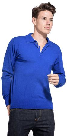 William de Faye moški pulover, XXL, moder