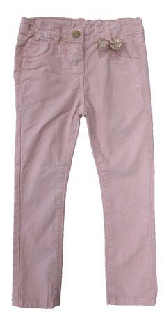 Carodel dekliške hlače z mašno, 92, roza