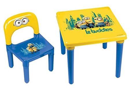 Stoleček se židličkou Mimoni