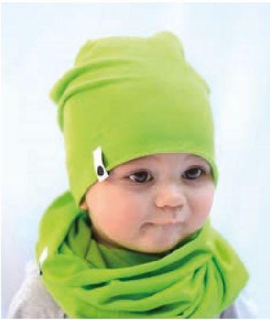 Lamama Baba sapka Summer 42 - 44 zöld