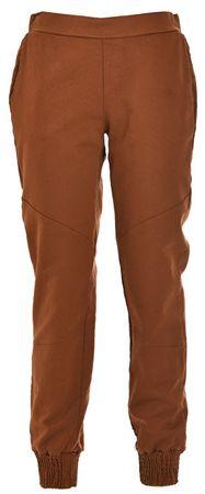 Deha Dámské kalhoty Jogger Pants D63325 Leather Brown (Velikost S)