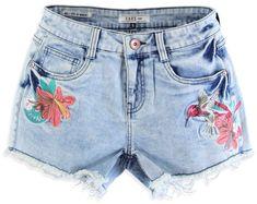 Cars-Jeans Női rövidnadrág Colibri 4061705 Bleach