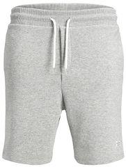 Jack&Jones Pánské kraťasy Jorhouston Sweat Shorts Noos Light Grey Melange