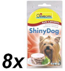 Gimpet mokra karma dla psa SHINY DOG - kurczak + jagnięcina - 8x (2 x 85g)