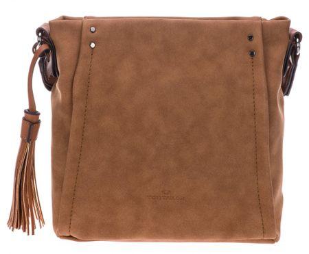 Tom Tailor ženska torbica preko ramena Brenda, smeđa
