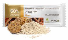 Vitalo Funkčné čokoláda Vitality - Maca 25g