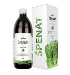 Nefdesanté Špenát - 100% šťava ze špenátu 500 ml