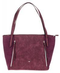 Tom Tailor ženska torbica Niki, vinska