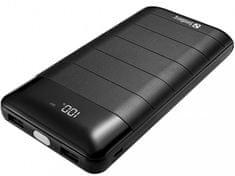 Sandberg prenosna baterija PowerBank 20000 mAh, črna