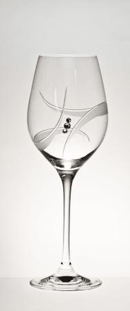 B. Bohemian čaše za bijelo vino GALAXY, 360 ml, 2 komada